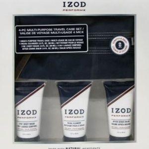 IZOD Perfomx 4pc multi-purpose travel case set